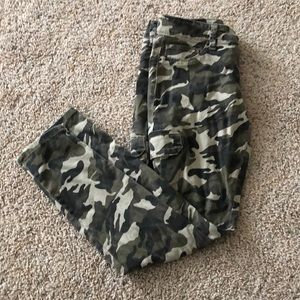 YMI Camo Skinny Jeans Size 11